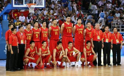 中国男篮vs美国