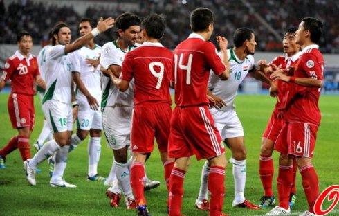 伊拉克VS中国男足